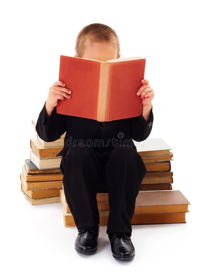 读书文学 库存照片