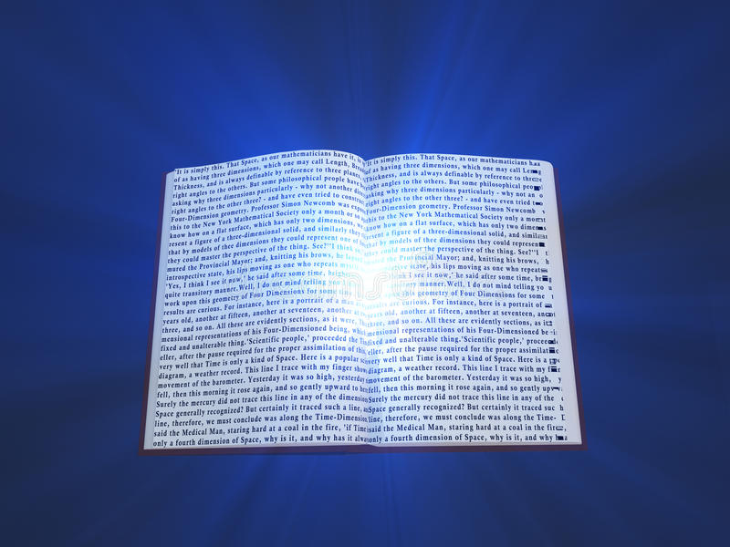书文本和光 向量例证