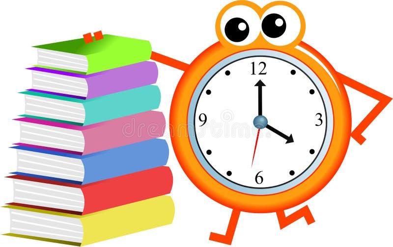 书时间 库存例证