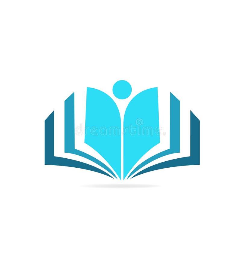 书本知识传染媒介象 库存例证