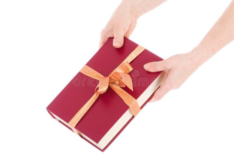 书查出的礼品现有量包装二 免版税库存图片