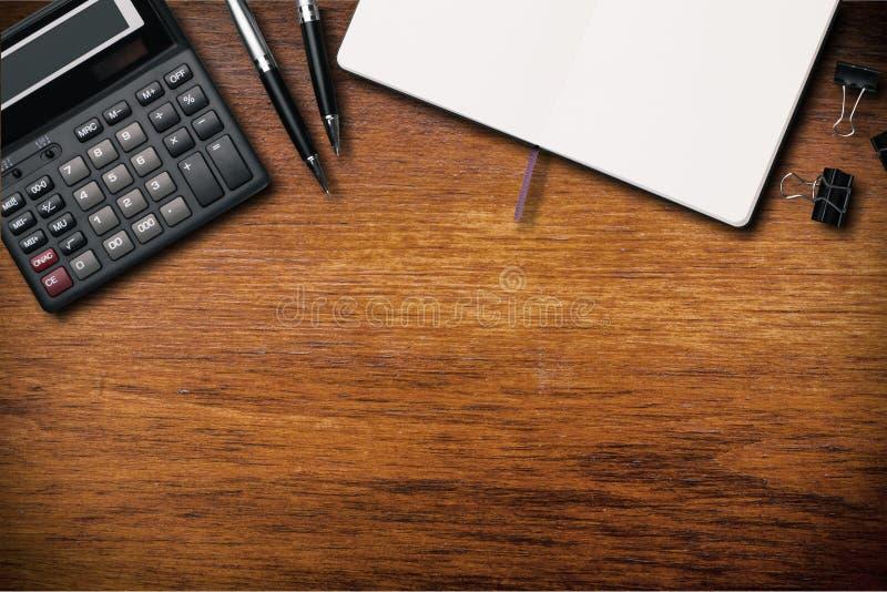 书桌 免版税库存图片