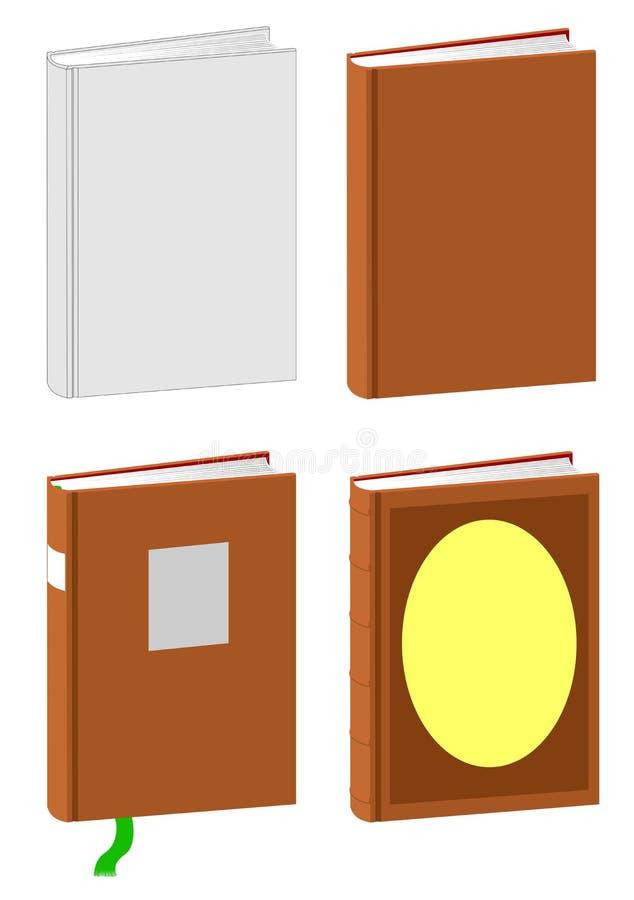 书模板 向量例证