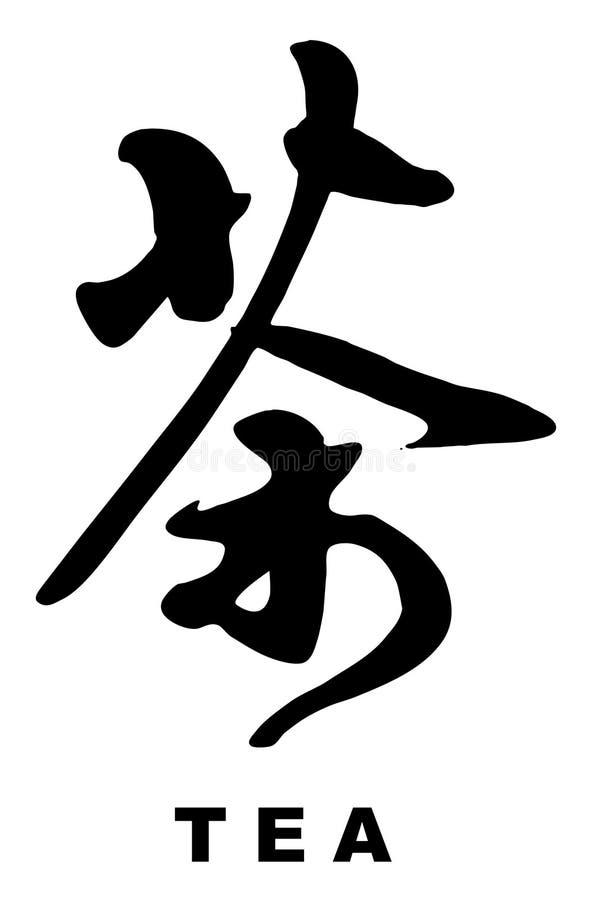 书法汉语 向量例证