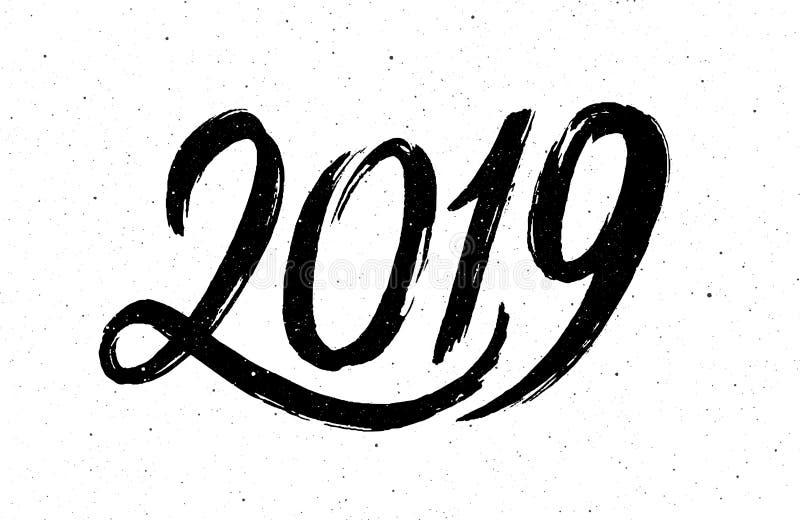 书法猪的2019个新年.图片