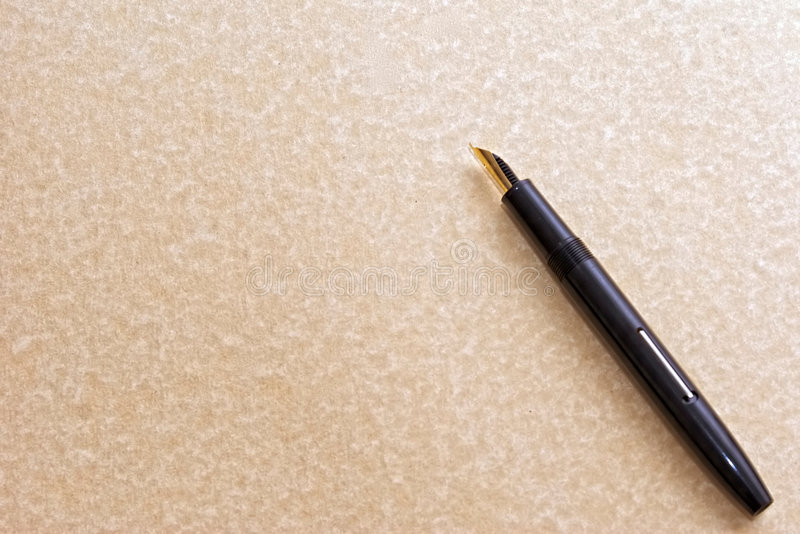 书法笔 库存照片