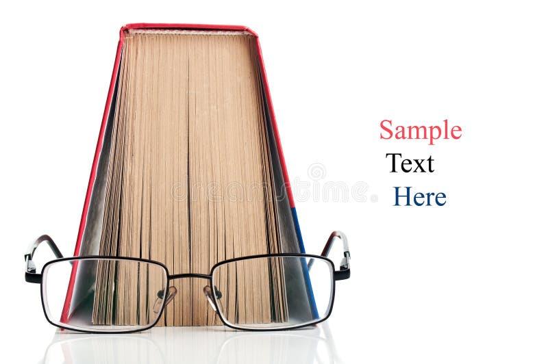 书玻璃开张 免版税库存图片