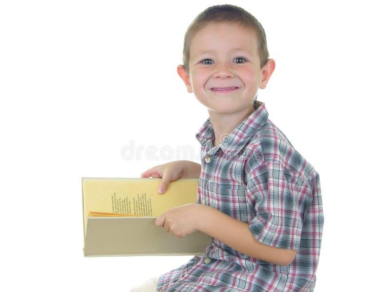书男孩二 免版税库存图片