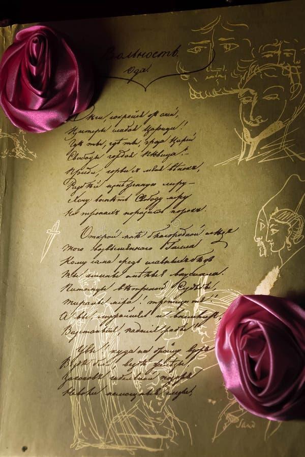 书的第一页 皇族释放例证