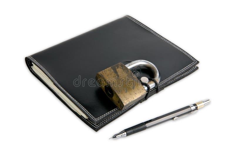 书秘密 库存照片