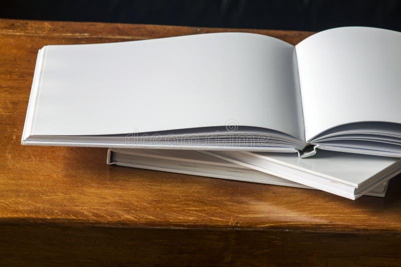 书空白 免版税图库摄影