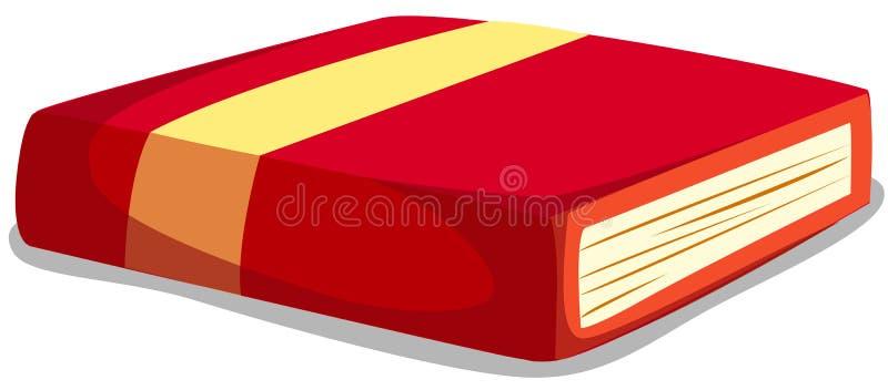 书红色 向量例证