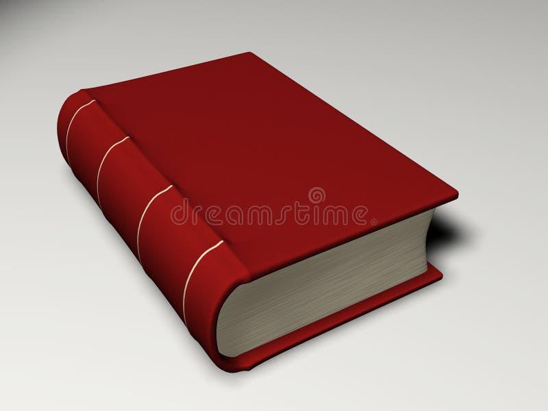 书红色 皇族释放例证