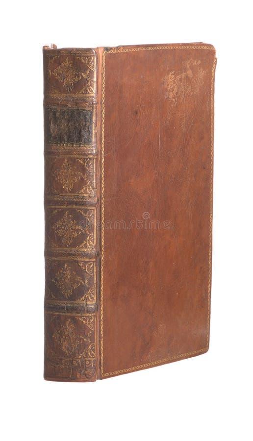 书被限制皮革老选拔 库存图片