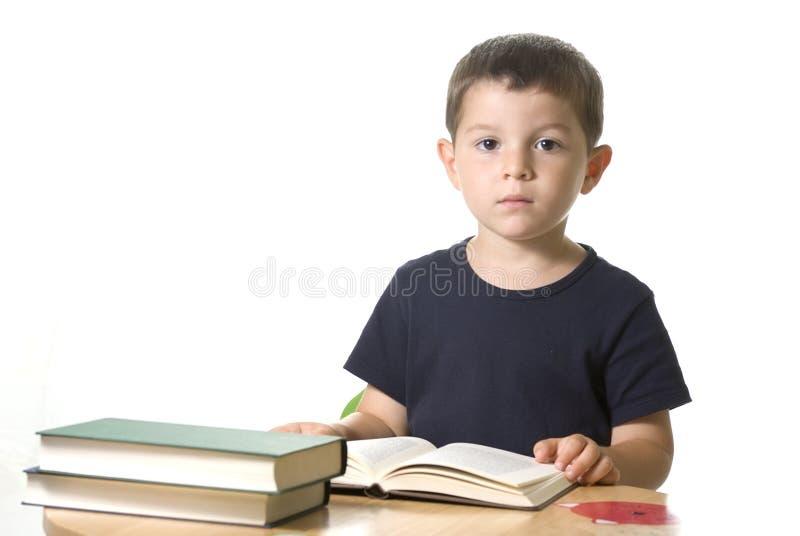 书读取 免版税图库摄影