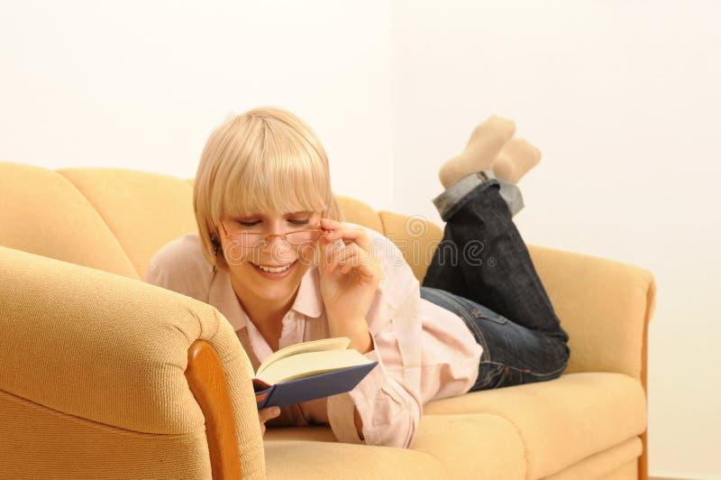 书读取 库存照片