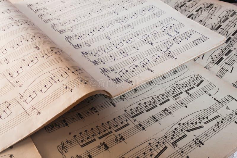 书音乐 免版税库存图片