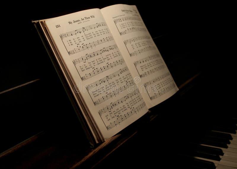 书音乐 免版税库存照片