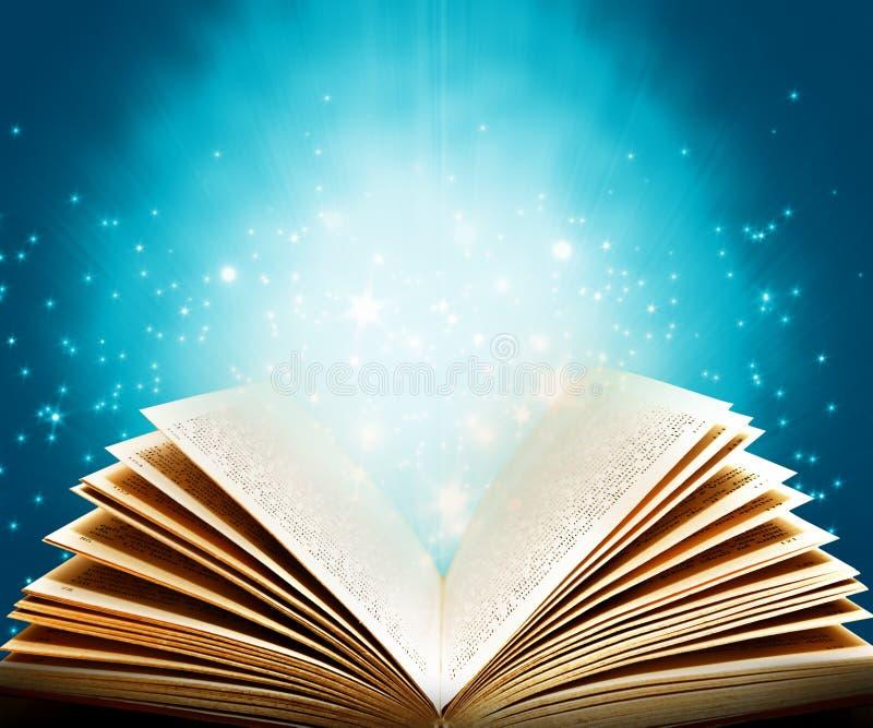 书魔术 免版税库存图片