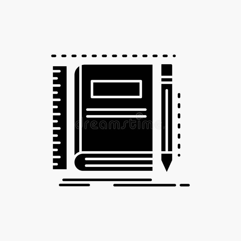 书,笔记本,笔记薄,口袋,速写纵的沟纹象 r 库存例证
