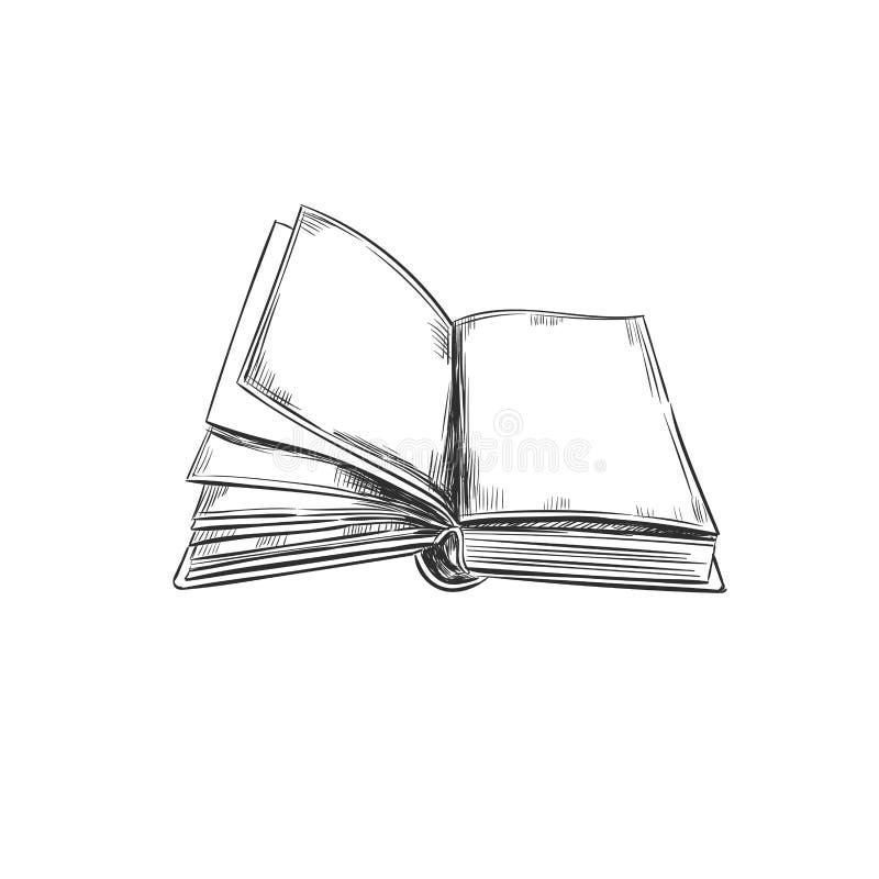 书 象查找的画笔活性炭被画的现有量例证以图例解释者做柔和的淡色彩对传统 一刹那膝上型计算机光草图样式 图标 减速火箭 葡萄酒 能使用作为商标为书店或商店,图书馆,教育 库存例证