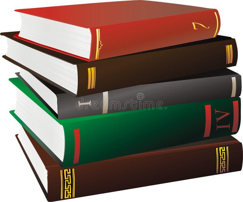 书 向量例证