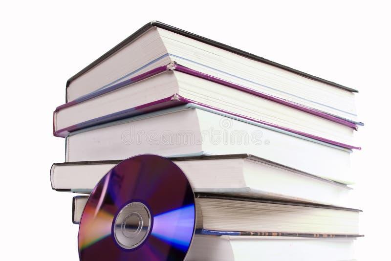书cd 免版税库存照片