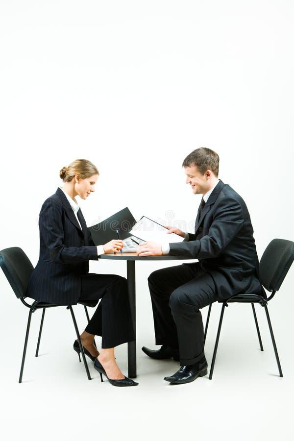 买卖人二 免版税库存图片