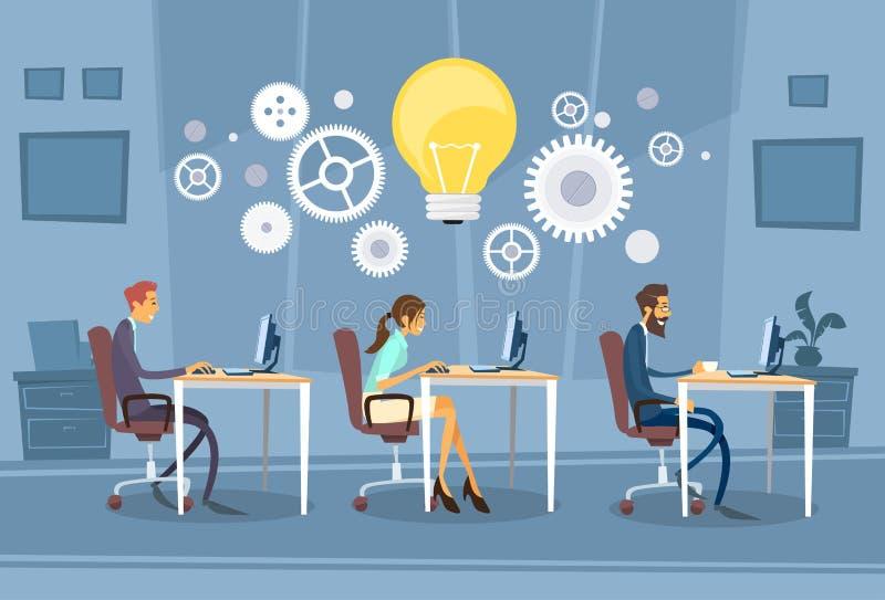 Download 买卖人编组工作的创造性的队 向量例证. 插画 包括有 女实业家, 生意人, 引擎, 商业, 服务台, 人力 - 62525582