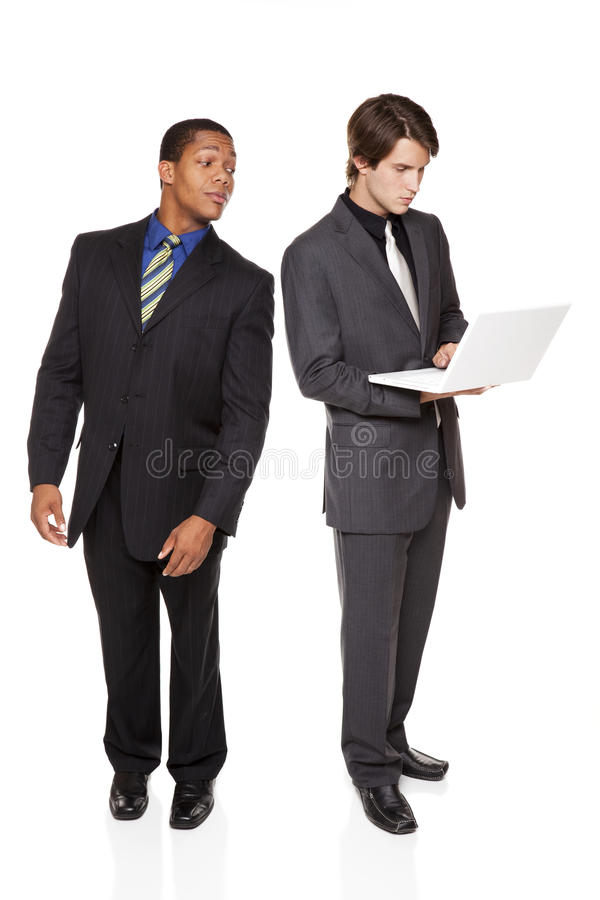 买卖人-总公司间谍活动 免版税库存照片
