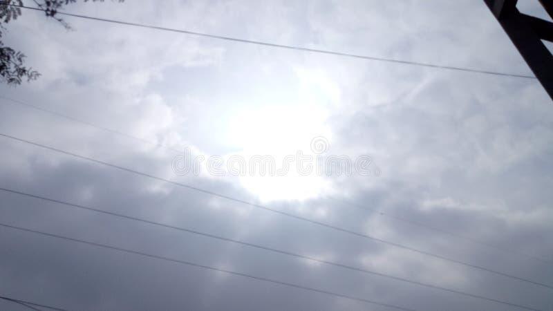 乱层云 图库摄影