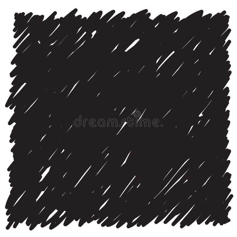 乱画样式背景 抽象盖子用于设计 库存例证