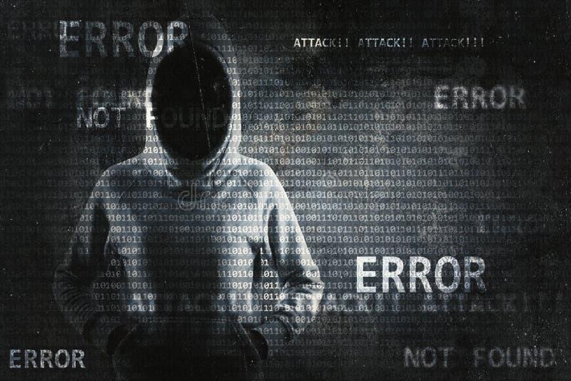乱砍的和phishing的概念 库存照片