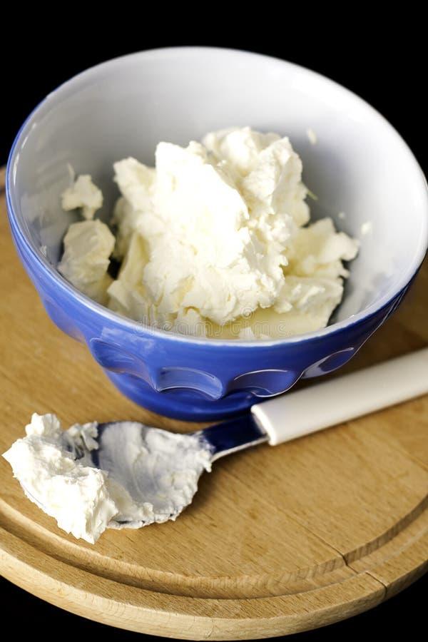 乳脂干酪 免版税库存图片
