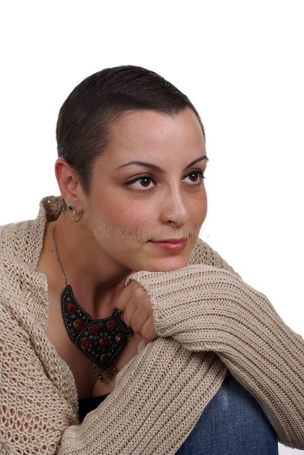 乳腺癌幸存者 免版税库存照片