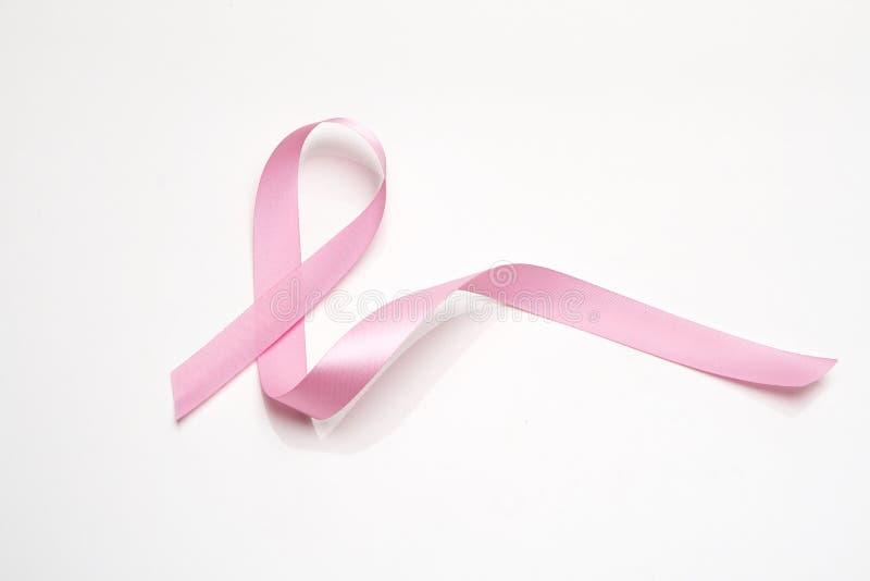乳腺癌粉红色丝带 免版税库存照片