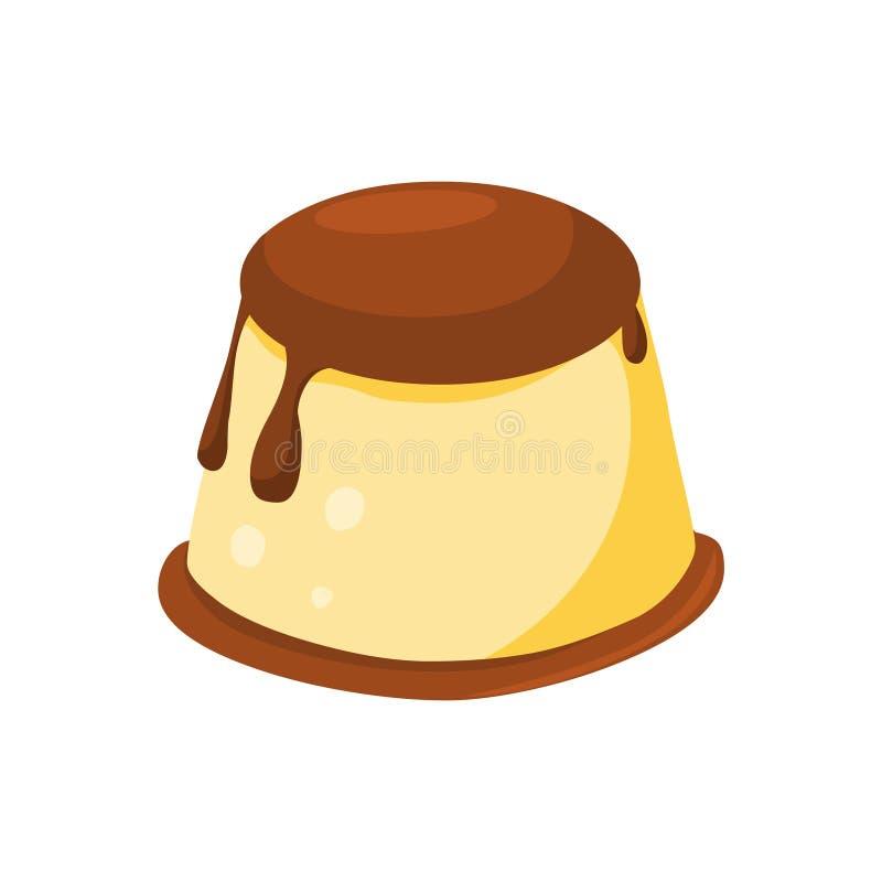 乳蛋糕 传染媒介乳蛋糕例证 库存例证