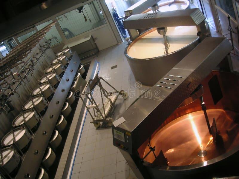 乳酪厂 库存图片