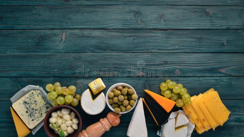 乳酪和快餐 免版税库存照片