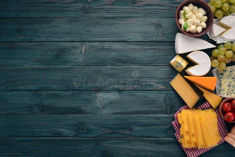 乳酪和快餐 免版税库存图片