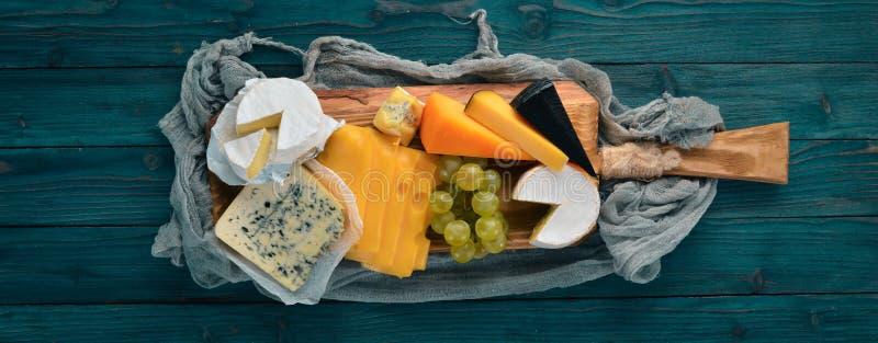 乳酪和快餐 库存照片