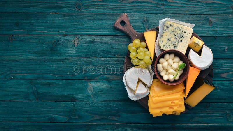 乳酪和快餐 图库摄影