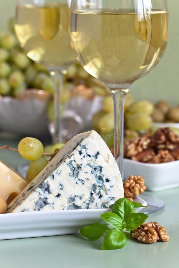 乳酪和醴 免版税图库摄影