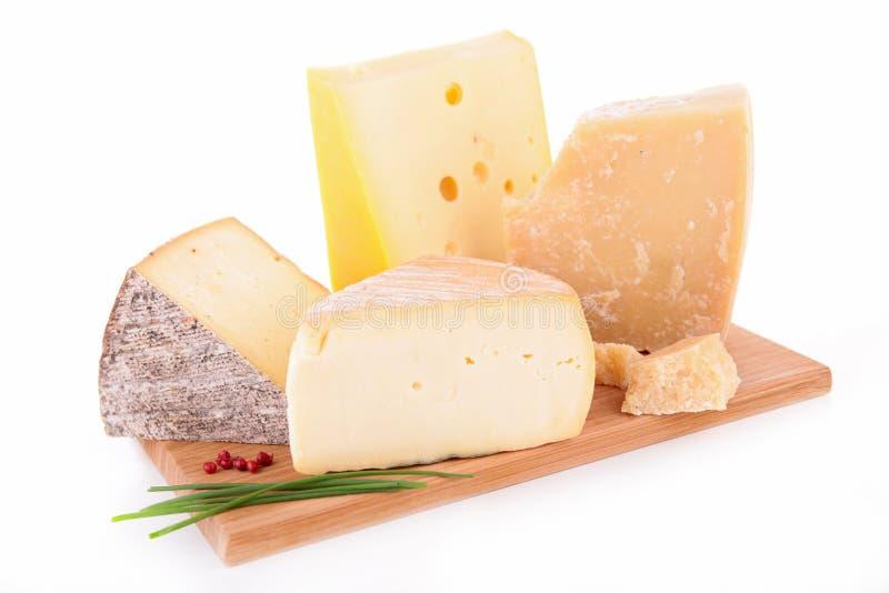 乳酪在船上 库存图片