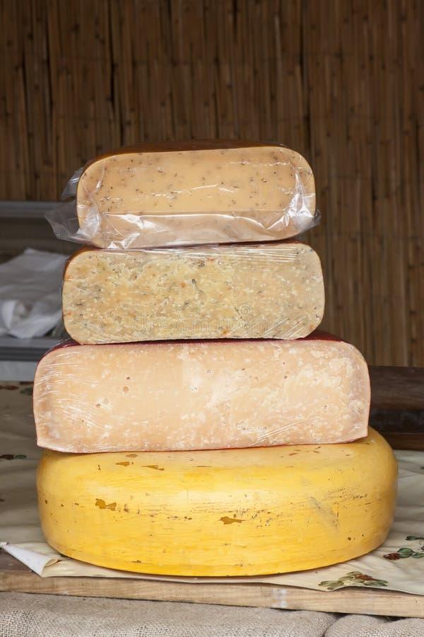 乳酪塔 库存照片