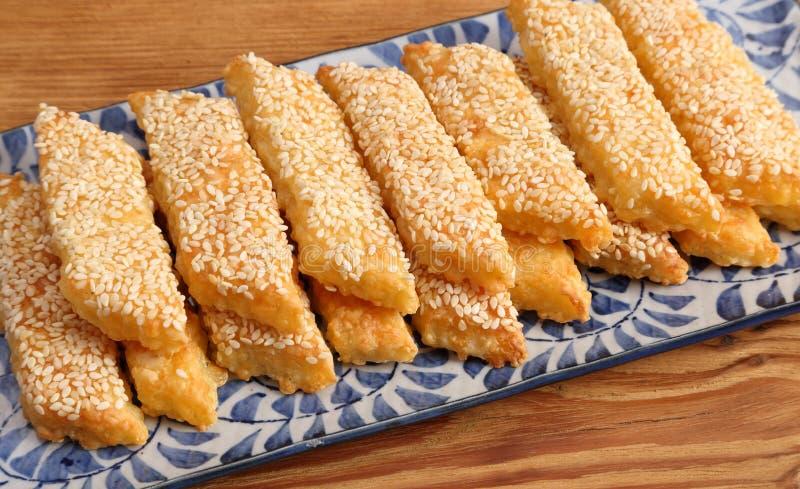 乳酪曲奇饼 免版税库存照片