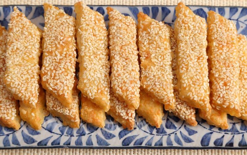 乳酪曲奇饼 库存图片