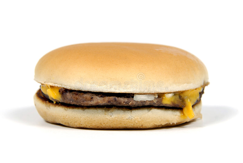 乳酪汉堡 图库摄影