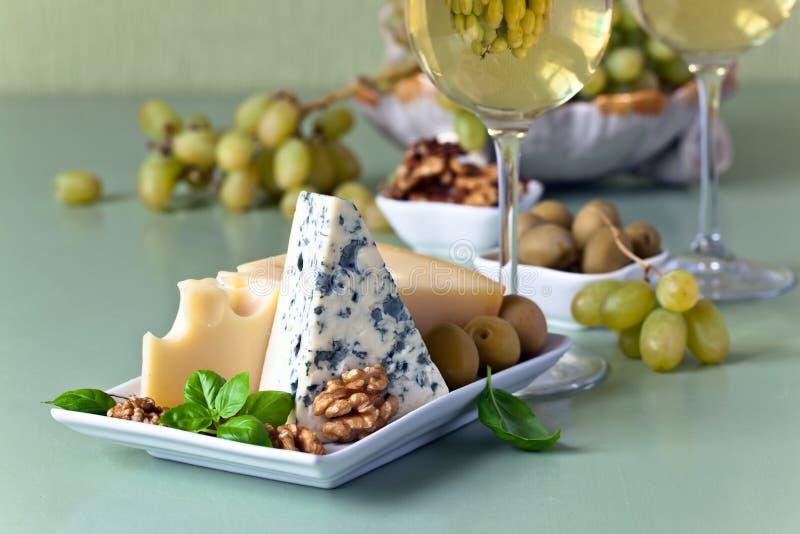 乳酪用果子 免版税库存图片