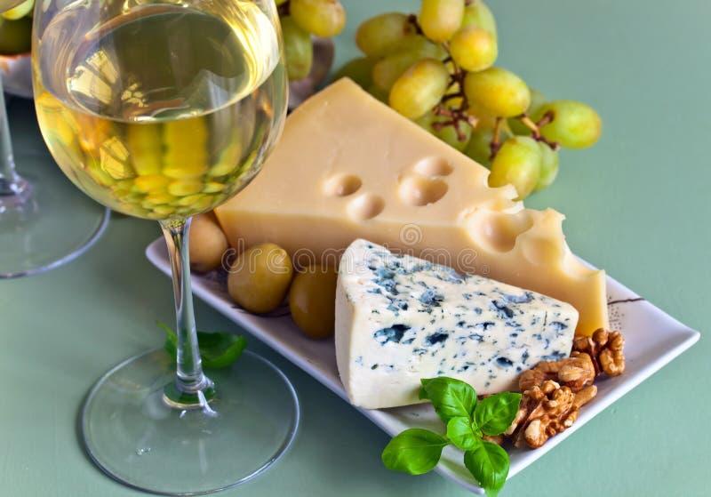 乳酪用果子 库存照片